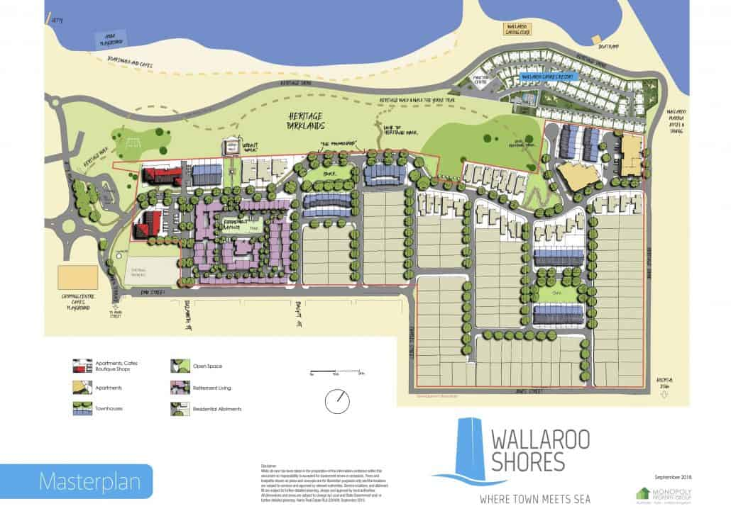 Wallaroo Shores Master Development Plan